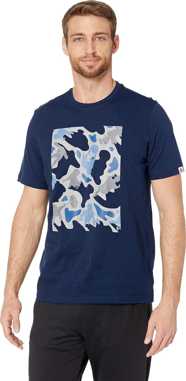 Bleu marine XL Reebok T-Shirt d'entraîneHommest Camouflage
