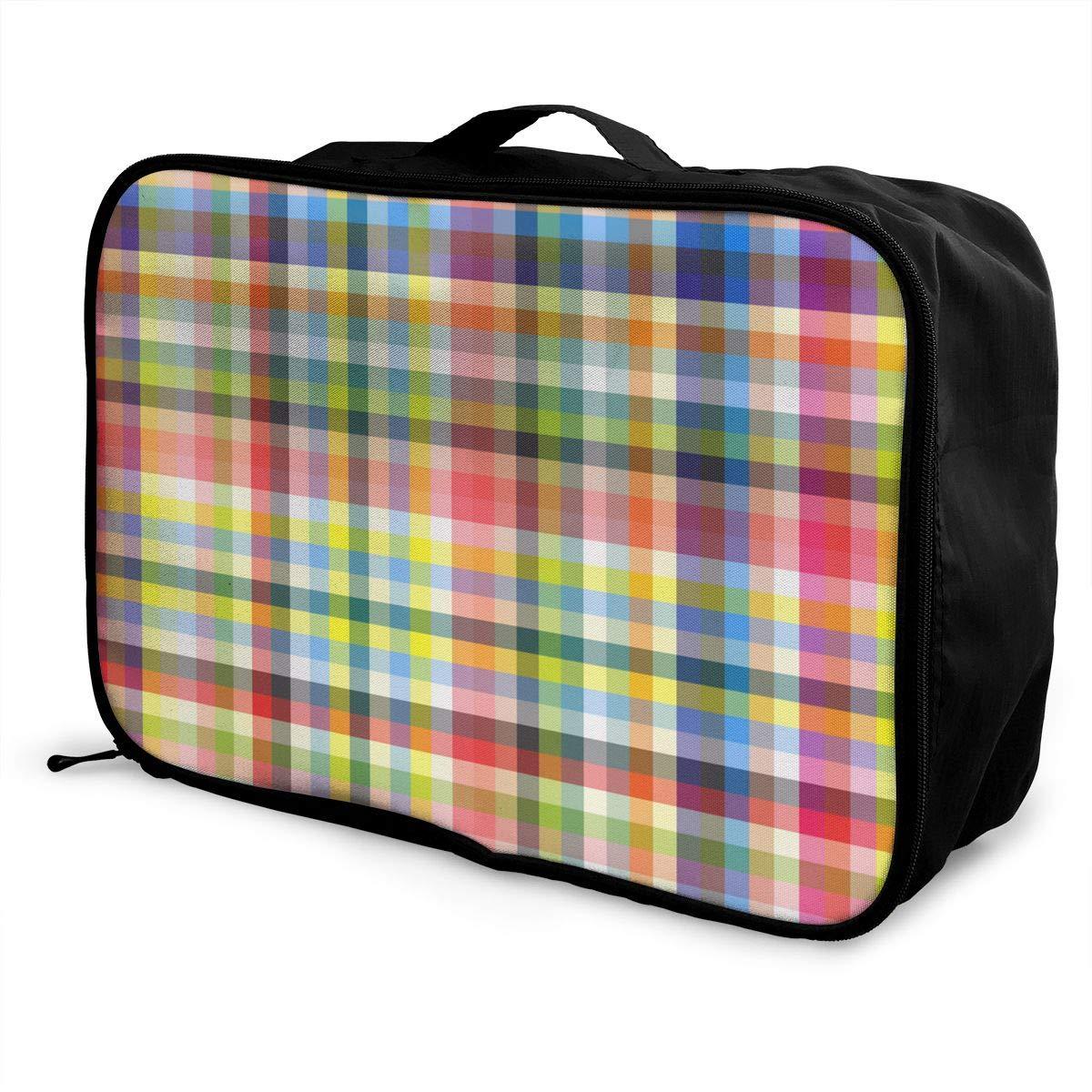 ADGAI Interesting Person Canvas Travel Weekender Bag,Fashion Custom Lightweight Large Capacity Portable Luggage Bag,Suitcase Trolley Bag