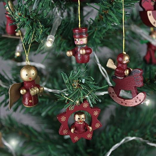 bd248c47523 Juego de adornos para árbol de navidad (madera