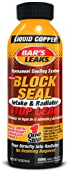 5. Bar's Leaks 1109 Block Seal Liquid Copper Intake and Radiator Stop Leak - 18 oz.
