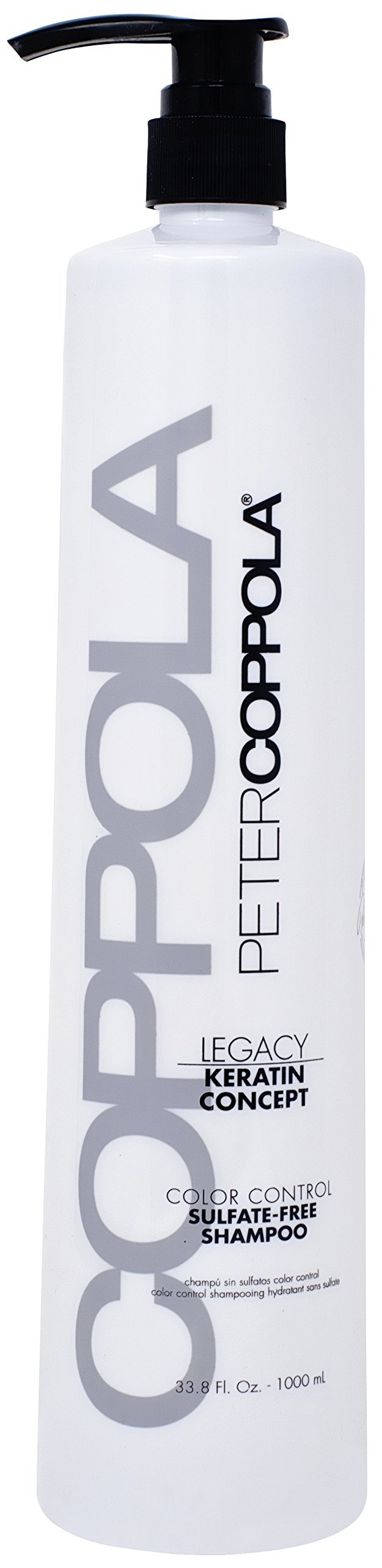 Peter Coppola Color Control Shampoo - A Sulphate Free, Keratin Safe, Color Safe, Gentle Cleansing Shampoo 33.8 oz. For Daily Use.