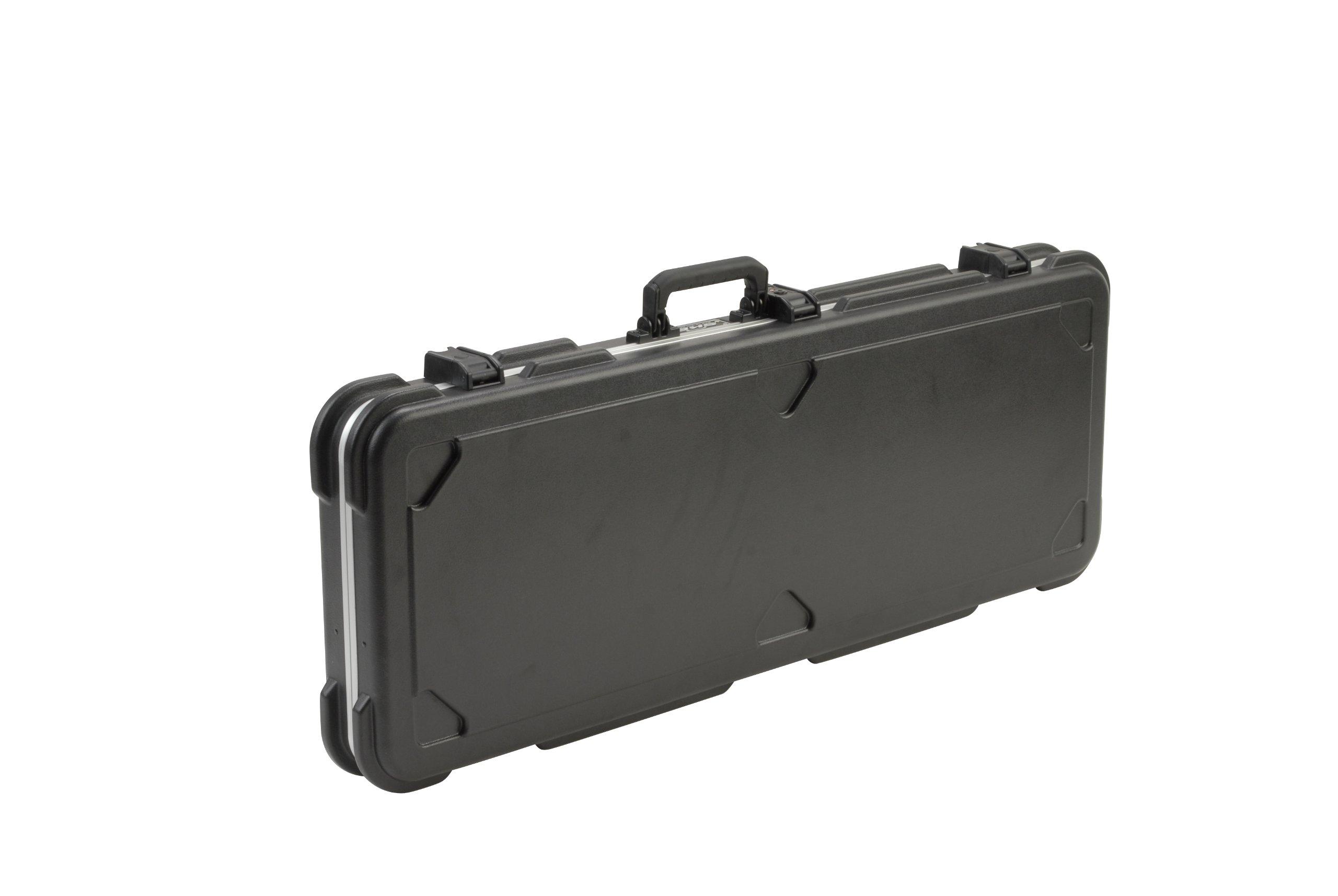 SKB Jaguar/Jazzmaster Type Shaped Hardshell Case 6-string Guitars only...not Bass - TSA Latch, Over-Molded Handle