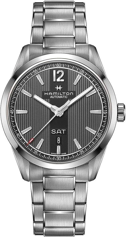 Hamilton–Reloj Hombre HAMILTON Broadway Day Date Auto h43515135Pulsera Acero–h43515135