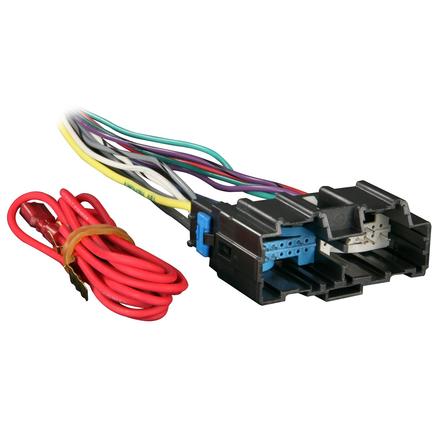 71ZzH dyg7L._SL1500_ amazon com metra 70 2105 radio wiring harness for impala monte 2008 chevy impala stereo wiring harness at fashall.co