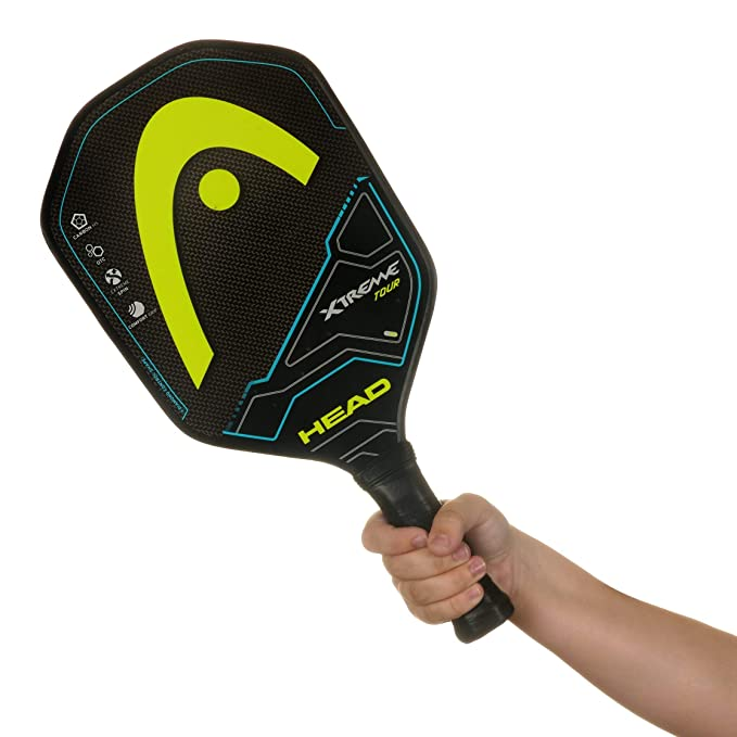 HEAD Graphite Pickleball Paddle - Extreme Tour Lightweight Paddle w/Honeycomb Polymer Core & Comfort Grip