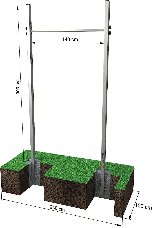 Einfach-Turnreck TOLYMP® 300 cm bei amazon kaufen