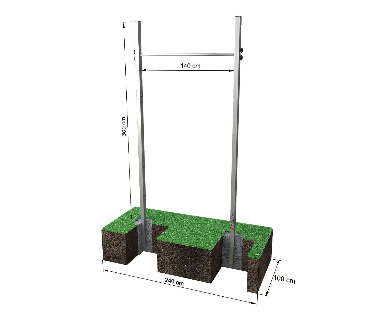 Einfach-Turnreck TOLYMP® Starterhorn Sonderhöhe 300 cm bei amazon kaufen