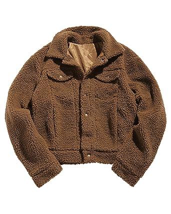 ZAFUL Herren Mantel Kaschmirmantel Fluffy Warme Winter