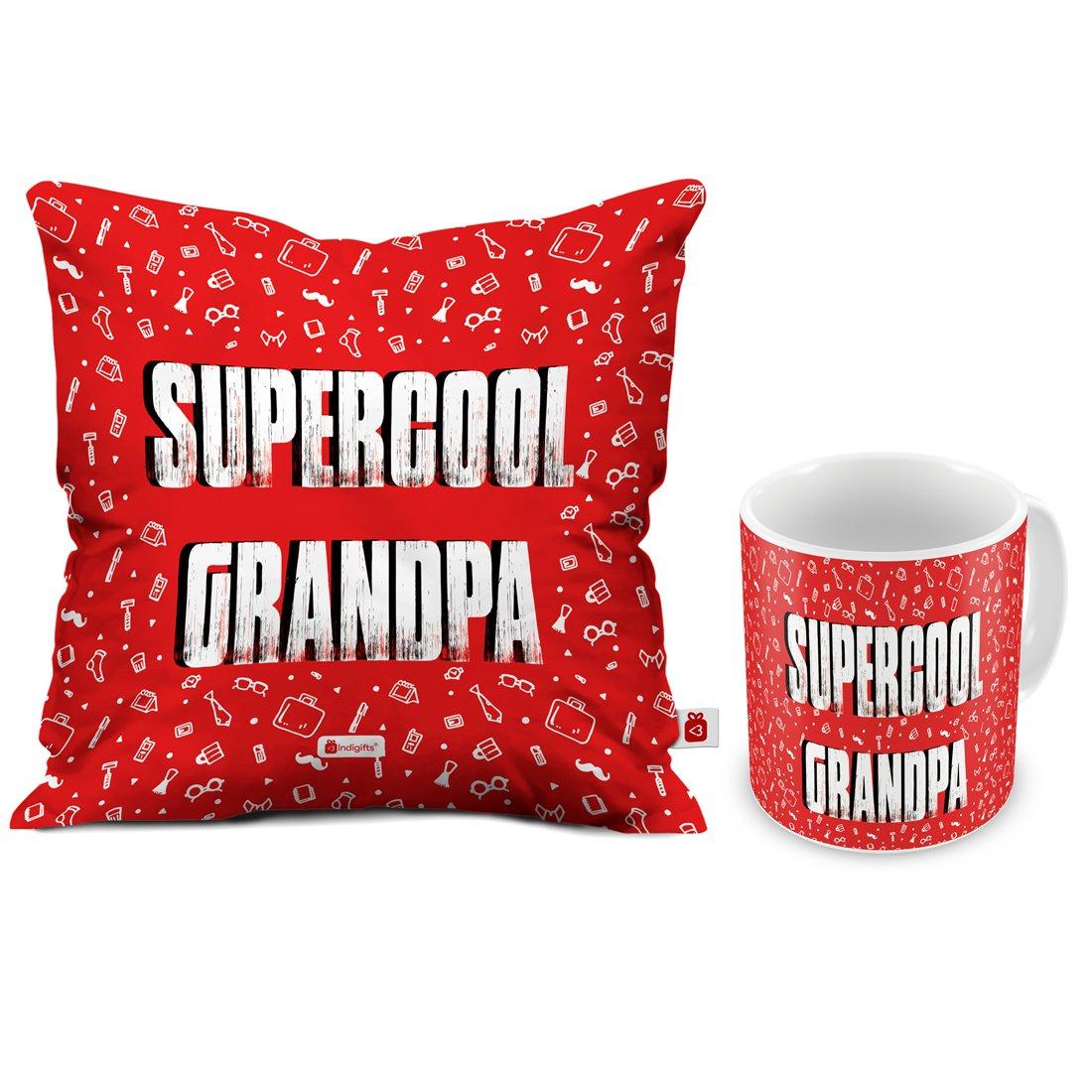 Buy Indi ts Grandfather Birthday Gifts Supercool Grandpa
