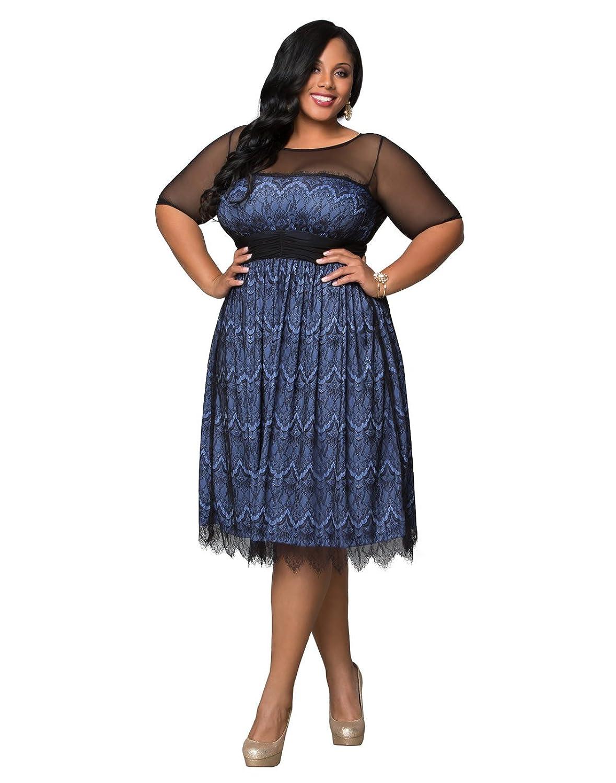 Amazon Kiyonna Womens Plus Size Vintage Dream Cocktail Dress