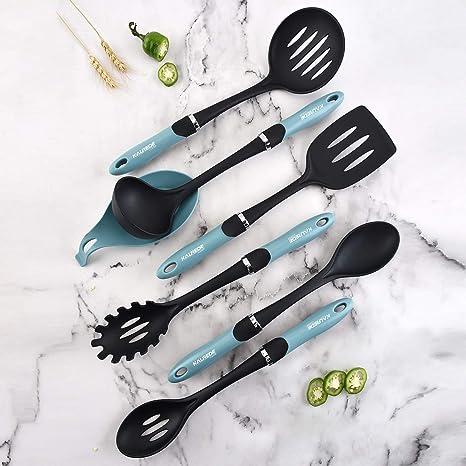 Amazon.com: KALREDE nailon Set de utensilios de cocina 6 ...