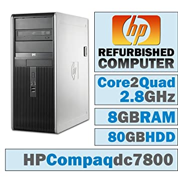 HP Compaq dc7800 MT/Core 2 Quad Q9550 @ 2 83 GHz/8GB DDR2