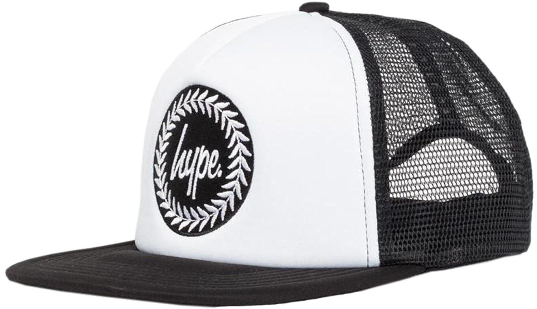a69854072 HYPE Crest White/Black Trucker: Amazon.co.uk: Clothing