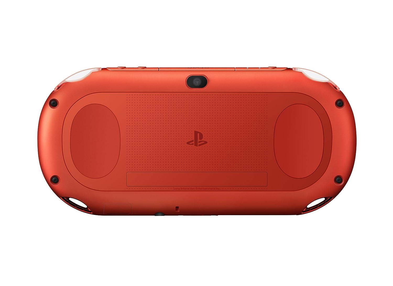 Amazon.com: PlayStation Vita Wi-Fi Metallic Red PCH-2000ZA26 ...