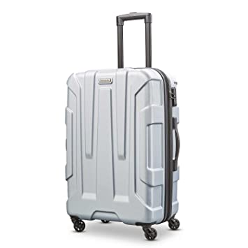 7b2c0eaef Amazon.com | Samsonite Centric Expandable Hardside Checked Luggage with  Spinner Wheels, 24 Inch, Silver | Suitcases