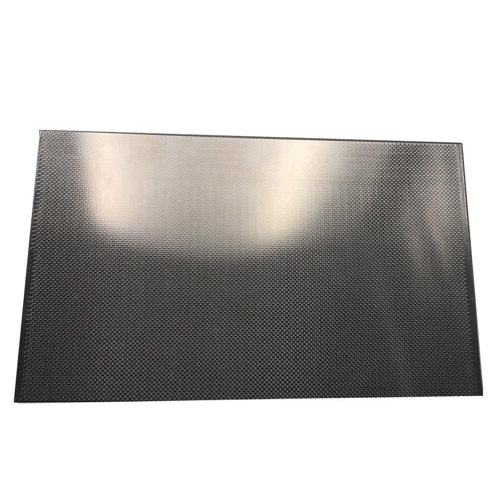 400X250X1 5MM 100/% 3K Plain Weave Carbon Fiber Sheet
