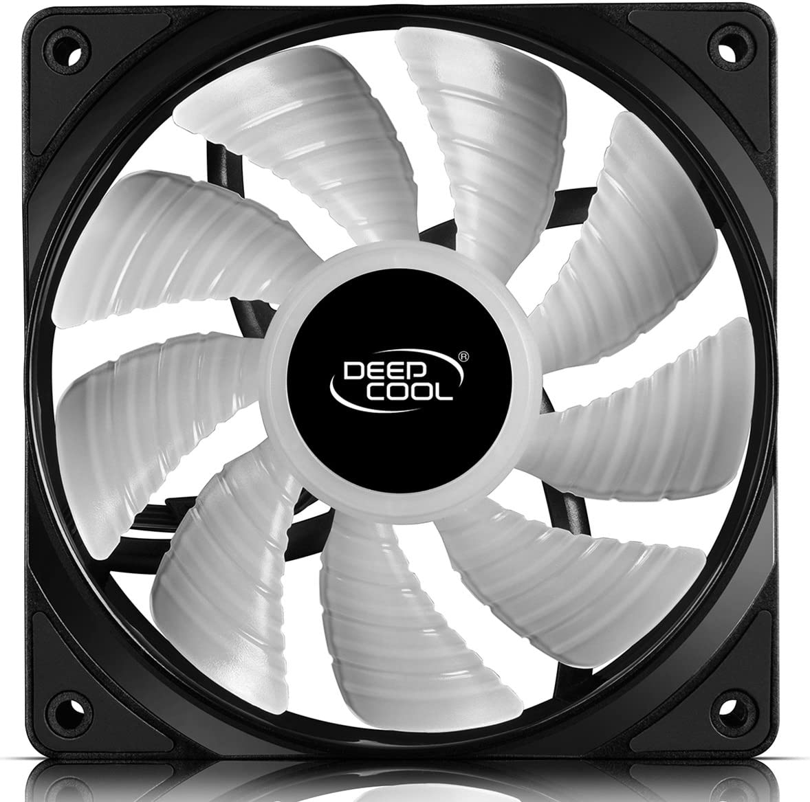 Compatible with ASUS Aura Sync DEEP COOL RF120 3in1 3X120mm RGB LED PWM Fans with Fan Hub and Extension