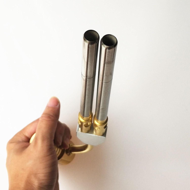 Mapp quemador de conexi/ón para barbacoa y fontaner/ía HVAC Pistola de soldadura a gas para soldadura de gas CGA600