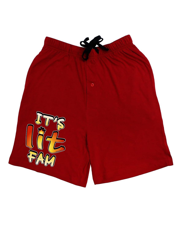 TooLoud Its Lit Fam Adult Lounge Shorts