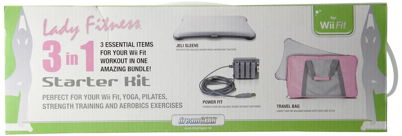 Amazon.com: Dreamgear Wii Fit 3 In 1 Fitness Starter Kit ...