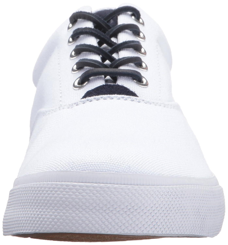 Ralph Lauren Polo Vaughn Canvas Zapatilla de Deporte de Moda - Pure White (41 EU/7 UK/8 US) 4uZYoZ