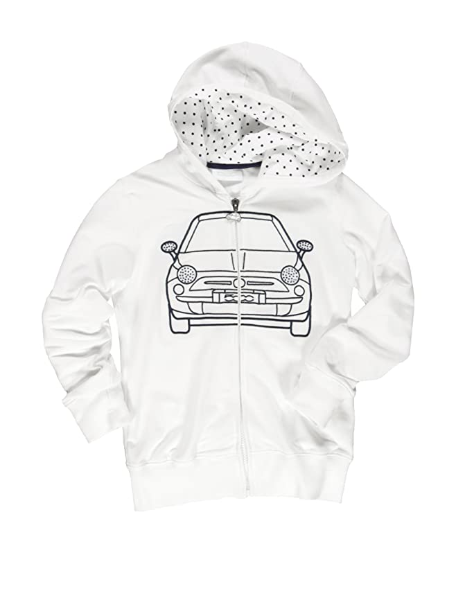 Fiat Giacca Felpa Bimba Bianco 3 4 Anni 98104 Cm Amazon It