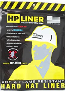 HP Liner Hard Hat Insert For Extreme Heat Or Cold, Arc and Flame Resistant