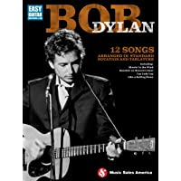 Bob Dylan – Easy Guitar Tab. Partitions pour Tablature Guitare, Guitare