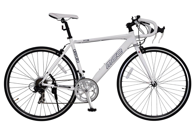 ANIMATO(アニマート) ロードバイク MC2 AN252 ホワイト B016RQMAR6