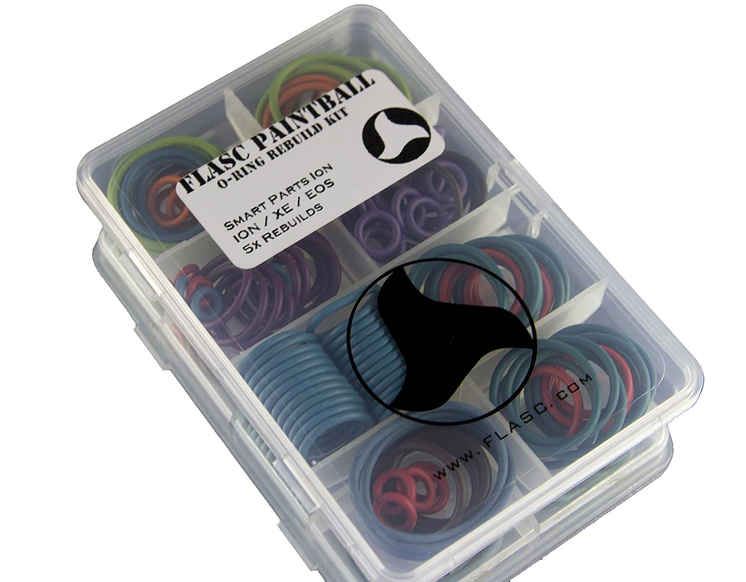 Smart Parts ION//ION XE 5X Color Coded Paintball o-Ring Rebuild kit by Flasc Paintball