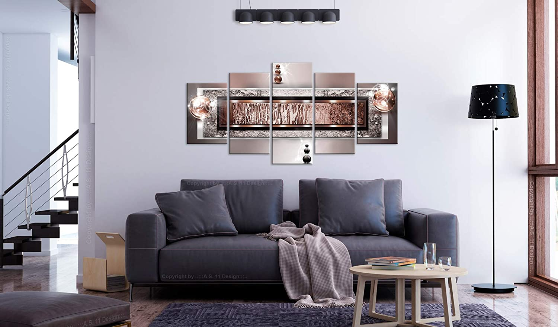 murando Akustikbild Abstrakt 20x20 cm Bilder Hochleistungsschallabsorber  Schallschutz Leinwand Akustikdämmung 20 TLG Wandbild Raumakustik