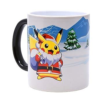 Pokémon Générique Pikachu Couleur Café Mug Changement Santa À De qpGUMVSz