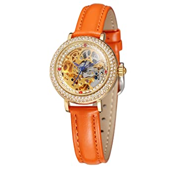 FORSINING - Reloj de pulsera para mujer, analógico, casual, con ...