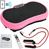 SUPER DEAL Crazy Fit Full Body Vibration Platform Massage Machine Fitness W/Bluetooth