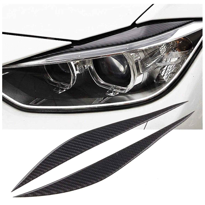 Amazon X Xotic Tech Carbon Fiber Headlight Eyebrows Eye Lid