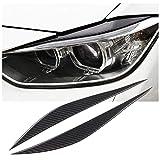 x xotic tech Carbon Fiber Headlight Eyebrows Eye