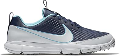 571238ac3506 Image Unavailable. Image not available for. Color  Nike Men s Explorer 2  Golf Shoes (Midnight Navy Pure ...
