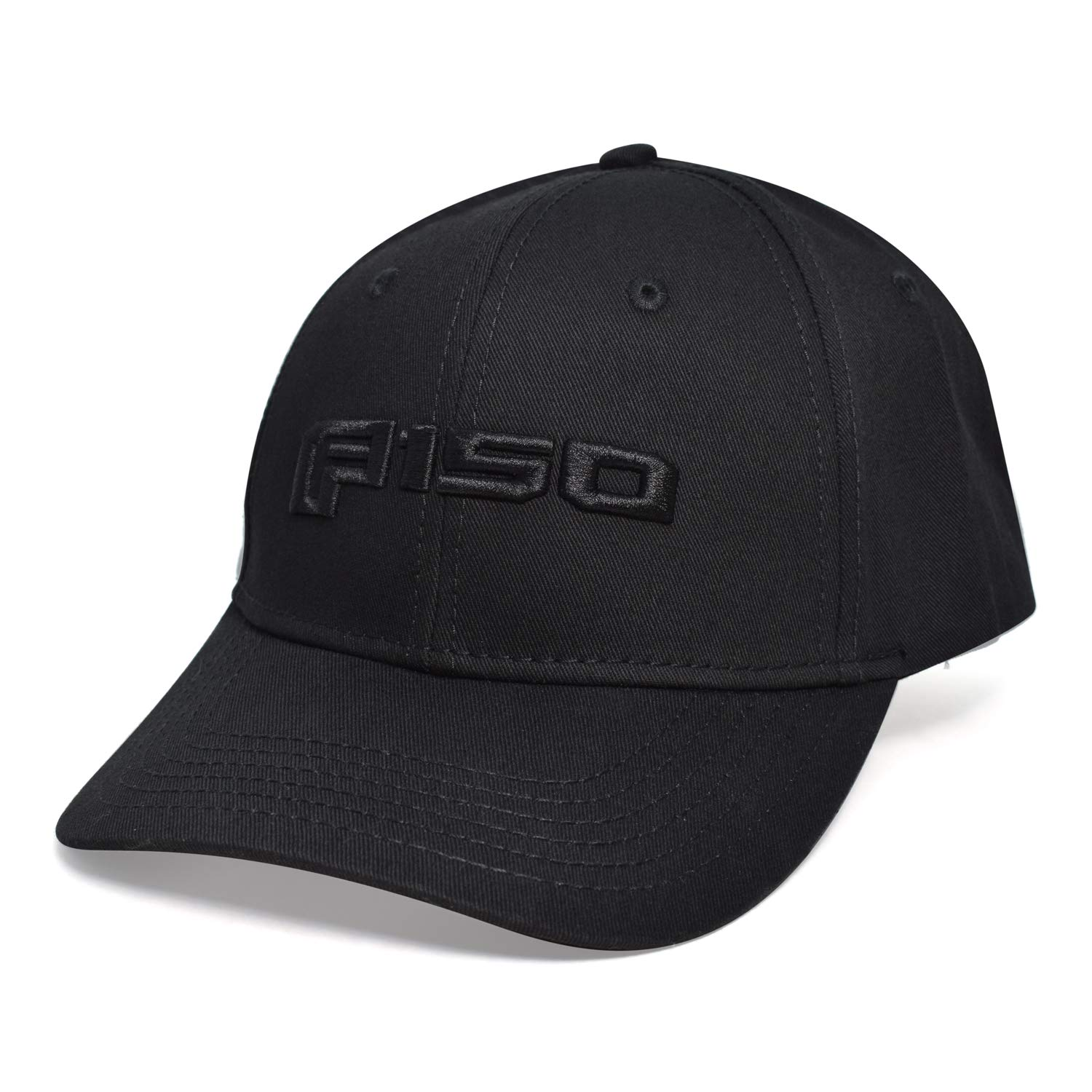 Ford F-150 Embossed 3D Blackout Baseball Cap CarBeyondStore