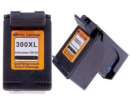 2 Cartuchos de impresora para HP 300 X L BK Photosmart C4788 ...