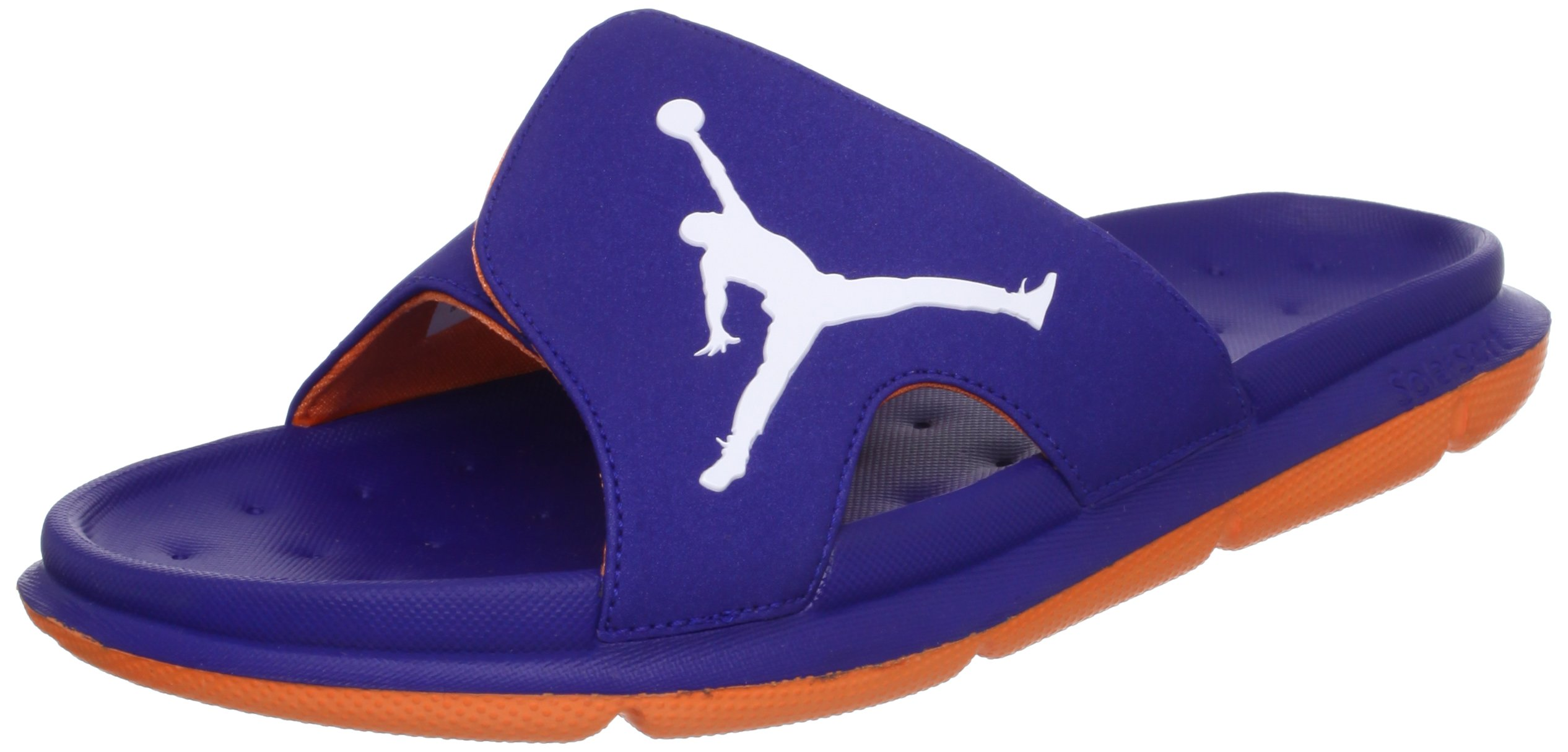 a961c332aa0f Galleon - Nike Men s NIKE JORDAN RCVR SLIDE SELECT SANDALS 9 Men US (DP  ROYAL BLUE WHITE BRIGHT CTRS)