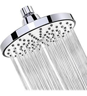Rain Flow Shower Head.Shower Head Limited Time Sale Rainfall High Pressure 6 Rain