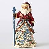 Enesco Jim Shore Heartwood Creek Norwegian Santa Figurine 4053705