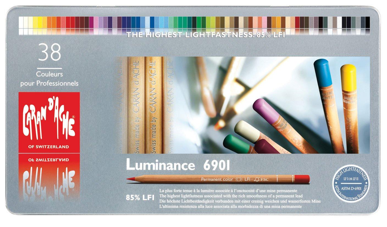 Luminance 6901 Colour Pencil Set Of 38