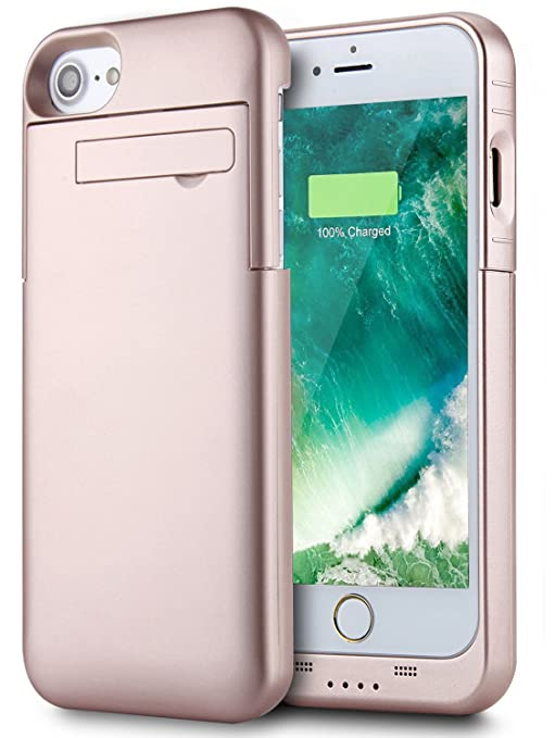 "27 opinioni per Batteria Cover iPhone 8 / iPhone 7 4.7"", PEMOTech® 3200mAh Custodia Cover"