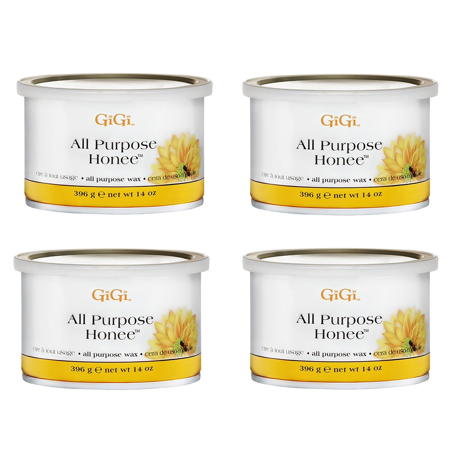 GiGi All Purpose Wax - Honee 235 ml (Pack of 4) 4 x 0330-HONEE