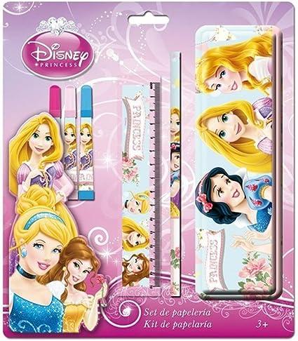 Princesas Disney AS8526 - Set papelería con estuche: Amazon.es: Oficina y papelería