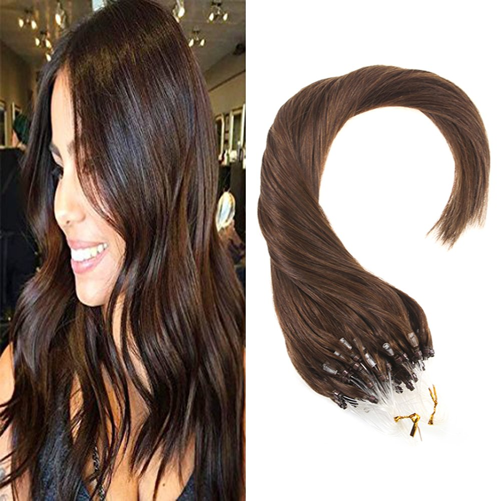 Amazon Vesunny 16inch Micro Link Hair Extensions Human Hair