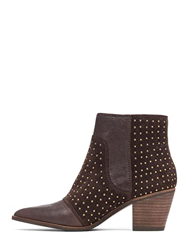 0f755a67a9d Amazon.com   Lucky Brand Womens Leeir Leather Pointed Toe Mid-Calf ...