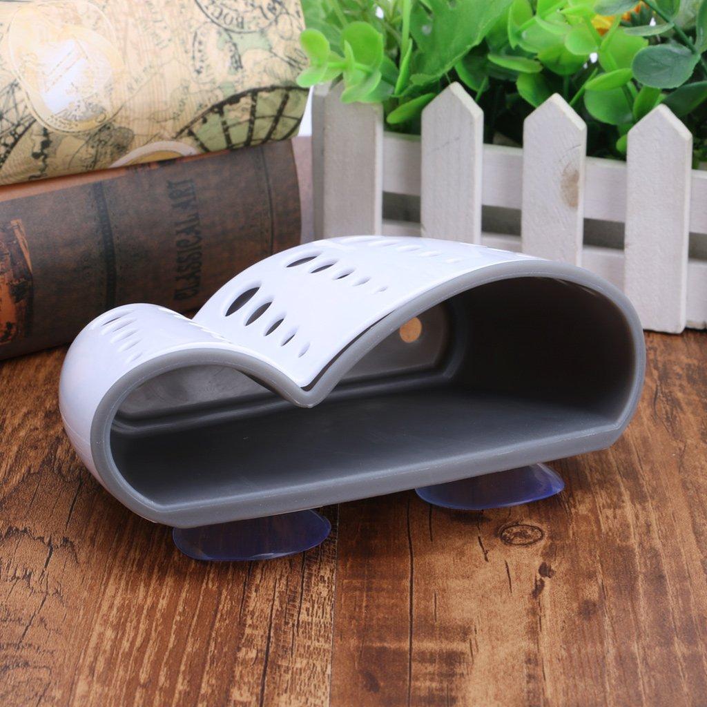 Tebatu Sink Caddy Double Layer Sponge Holders For Bathroom Kitchen Organization Baskets by Tebatu (Image #5)