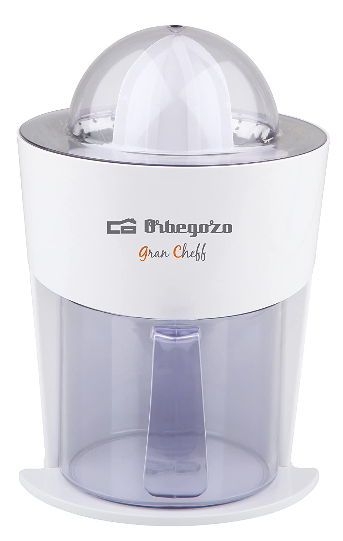 Orbegozo EP 2500 - Exprimidor eléctrico de 100 W, vertido directo, doble sentido, antigoteo, color blanco: Amazon.es: Hogar